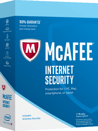 Free Internet Security >> Mcafee Internet Security 2020 Free 6 Months Activation Code